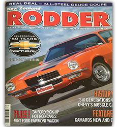 New Zealand Rodder –  Sept 2016